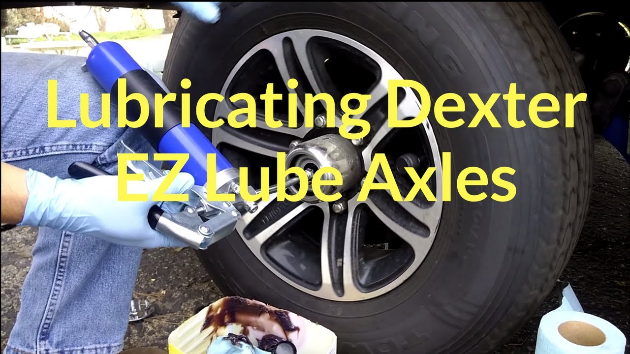 How to Lubricate Dexter EZ Lube Axles  YouTube