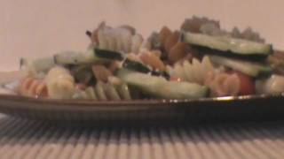 Cooking With Ryann : Tri-color Rotini Pasta Salad
