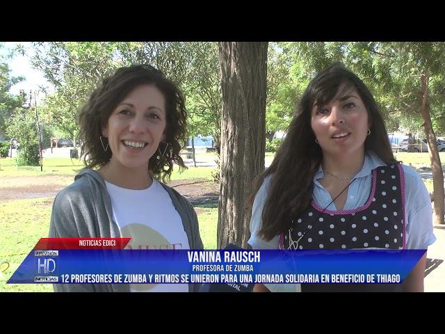 Vanina y Laura   Clase de Zumba y Ritmos a beneficio de Thiago González