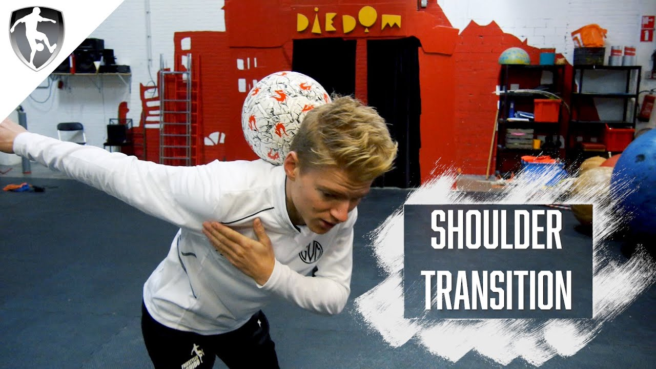 Leer Freestyle Voetbal: Shoulder Transition