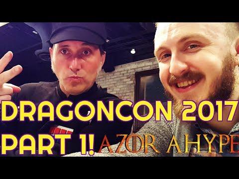 DRAGON CON 2017 VLOG PART 1