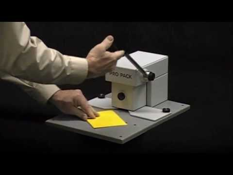 PRO PACK® NEW MP3 MANUAL HOLE PUNCH DIE CUTTING MACHINE