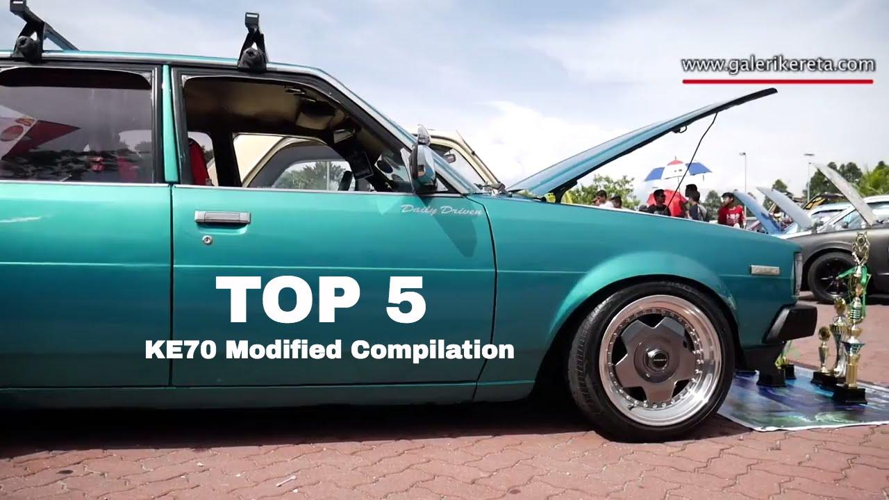 Top 5 Best Compilation Modified Toyota Corolla Ke70 Nov 2016