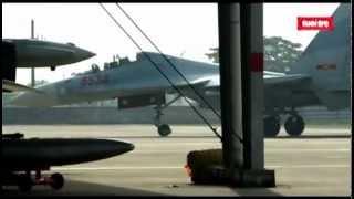 Repeat youtube video Một ngày với máy bay tiêm kích đa năng siêu âm Việt Nam