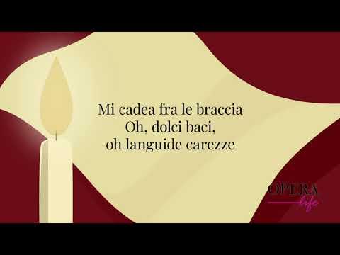 E lucevan le stelle - Tosca: Luciano Pavarotti - Lyrics