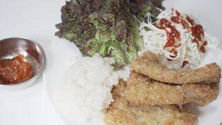 한국인 최애 고기로 돈까스 만들기 | 삼겹살 돈까스