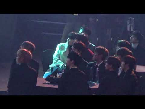 171115 Asia Artist Awards(AAA) wanna one 워너원 reaction to THE RAMPAGE from EXILE TRIBE