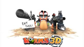 Worms 3D Gameplay