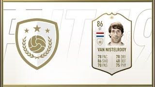 FIFA 19 - Ruud Van Nistelrooy (86) - Icon Review