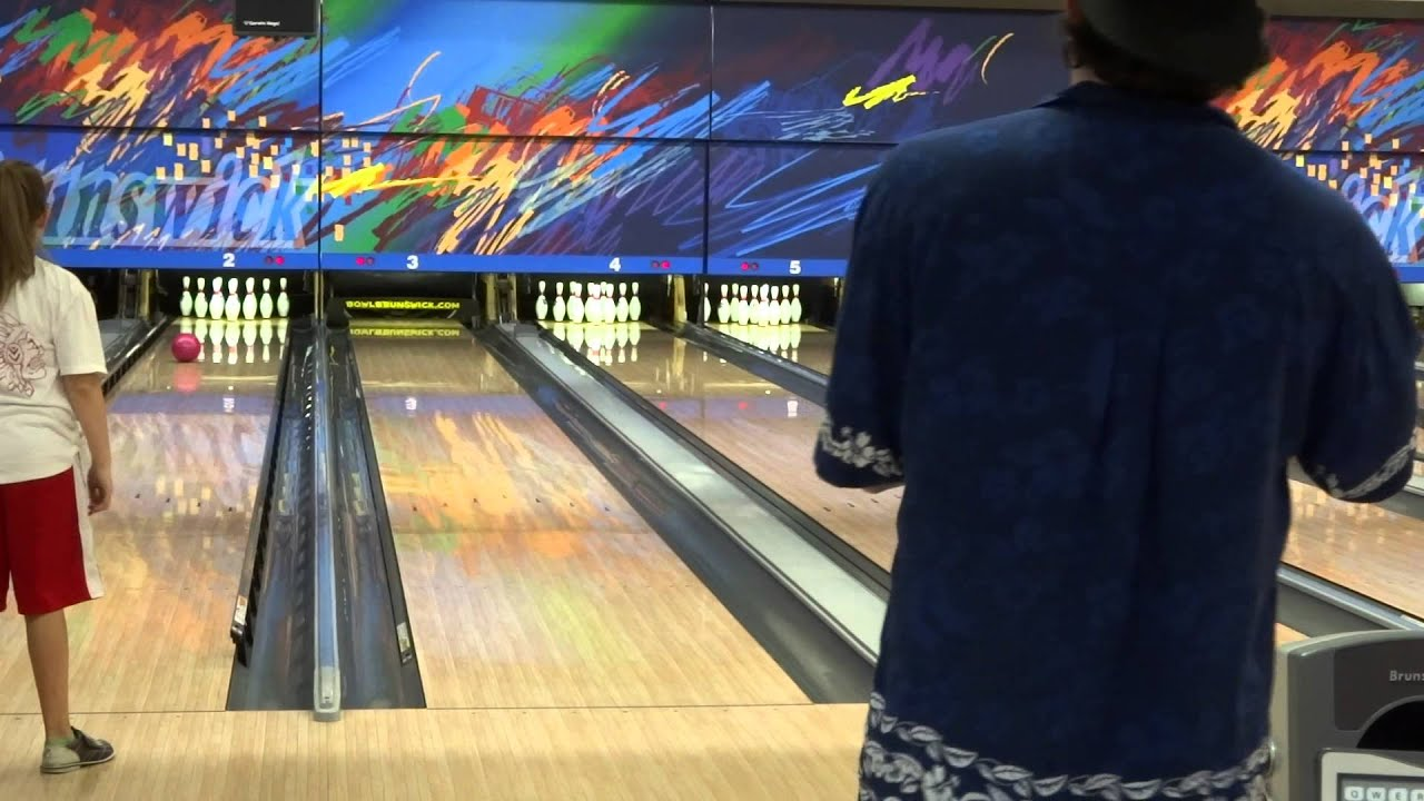 Me vs  Bowler4Ever at Brunswick Zone in Lowell, MA (From 4/28/13) Part 4  (With Insane Games!)