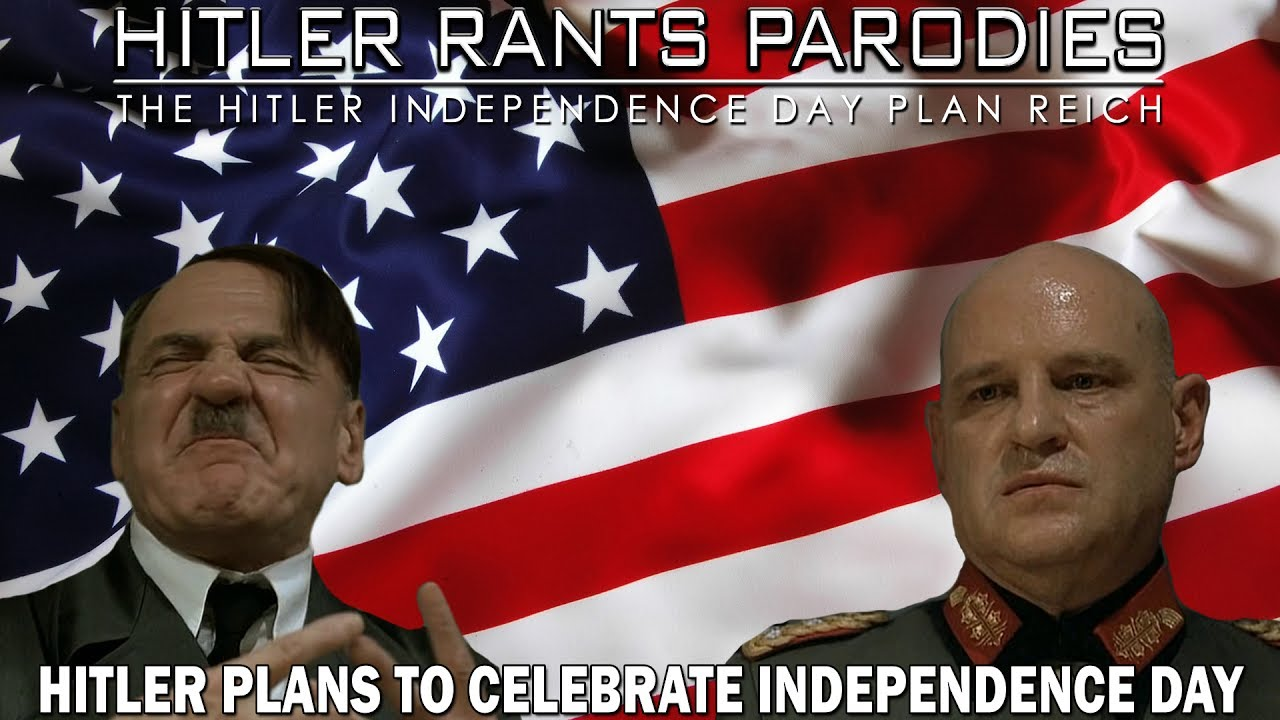 Hitler plans to celebrate Independence Day