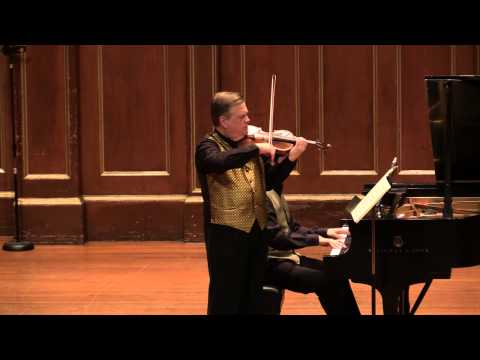 James Buswell & Meng-Chieh Liu plays Schubert Fantasie in C, D934 (Live performance in HD).