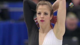 2017 Europeans - Carolina Kostner SP NBCSN HD