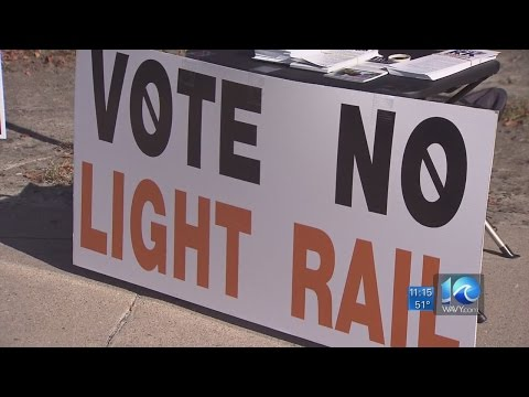 Virginia Beach residents vote against light rail extension