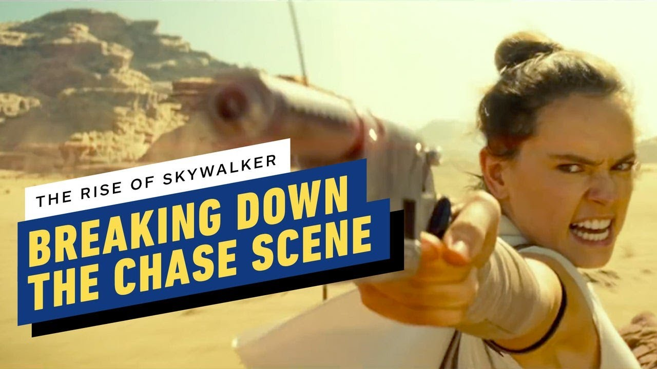 Reparto de Star Wars: The Rise of Skywalker en la filmación de la Gran Caza (Daisy Ridley, Oscar Isaac) + vídeo