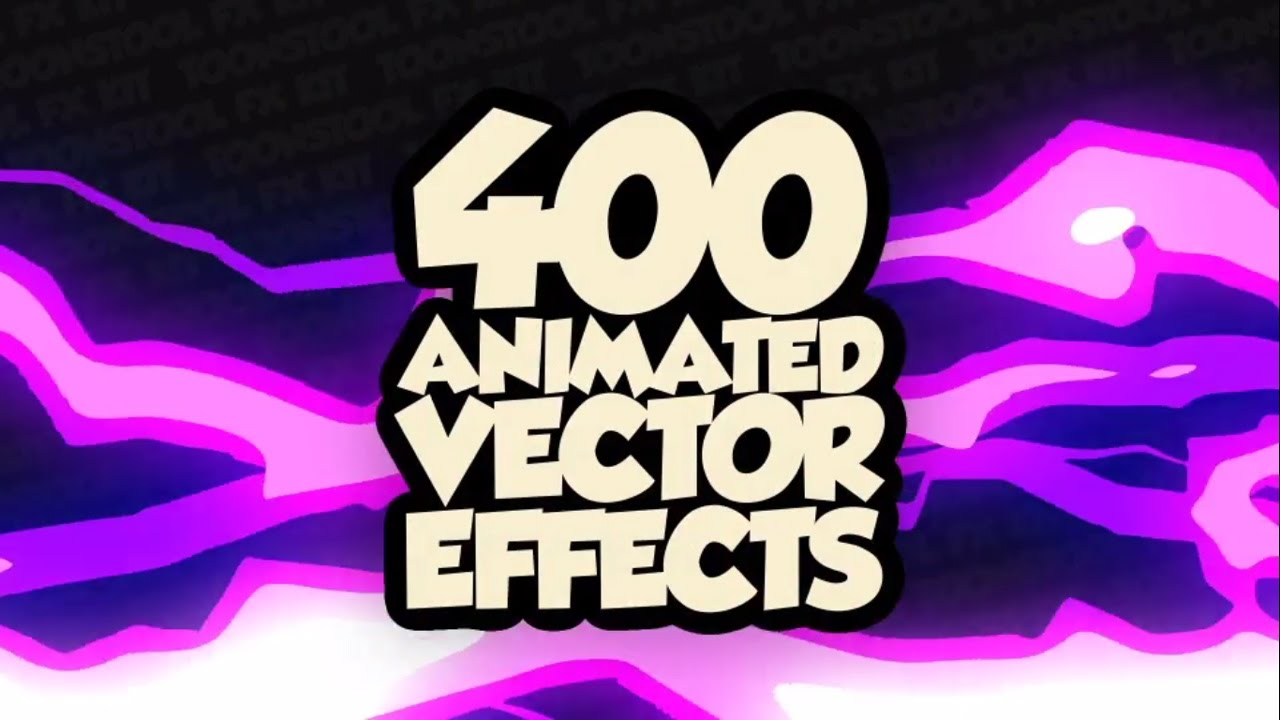 400+ Animated Cartoon Tools Kit - After Effects Template