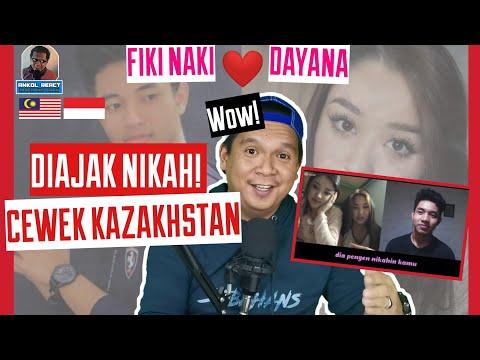 Fiki Naki diajak Nikah oleh Dayana cewek Kazakhstan wow!!-Ome.TV Internasional-Malaysia Reaction