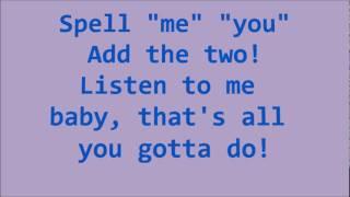Glee ABC with Lyrics