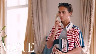 Alicia Vikander Has All the Answers...Or Does She? | Magic Diner Part II | Vogue
