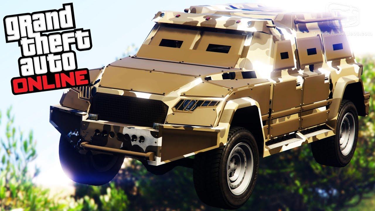 Best Armored Car In Gta