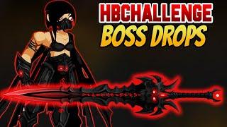 AQW- /Hbchallenge New Boss Drops And Merge Shop + Item Showcase