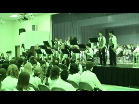 Joseph L. Carwise Middle School Spring Jazz Band Concert 052212