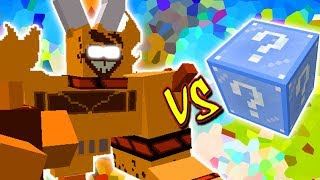 RAGNAROS THE FIRE LORD VS. LUCKY BLOCK FROSTY (MINECRAFT LUCKY BLOCK CHALLENGE)