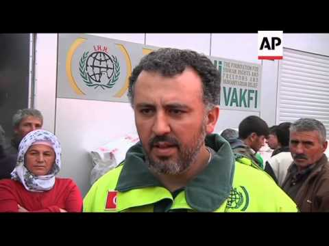 Quake Survivors, NGO React To Delivery Of Aid From Israel