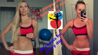 Измени свое тело за 25 минут в день! Тренировки на каждый день: похудение, тонус, рельеф