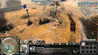 Company Of Heroes 2 : Multiplayer Gameplay A.I. Carry
