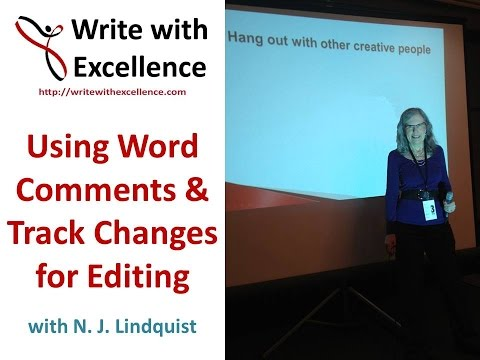 Using MS Word Comments and Track Changes for Editing