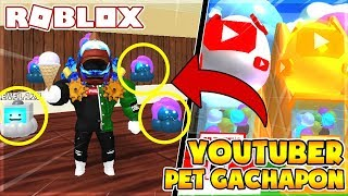 PET YOUTUBERS AND CAN BE FITTED WITH 5 PET CONTAINERS | Ice Cream Simulator (Roblox)