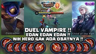 AULRAD VS ALUCARD || FULL ENDLESS BATTLE || DUEL VAMPIRE JAMAN NOW || MOBILE LEGENDS