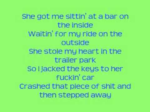 Sittin At A Bar Rehab With Lyrics Youtube