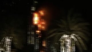 Raw: Fire Breaks Out at Dubai High-Rise