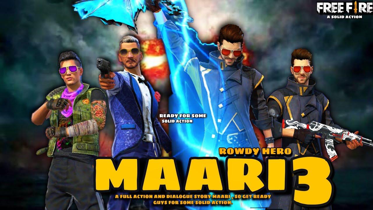 Download MAARI - ROWDY HERO || PART - 3 || FREE FIRE SHORT ACTION STORY || Maari 3 || ACTION MOVIE 🎥