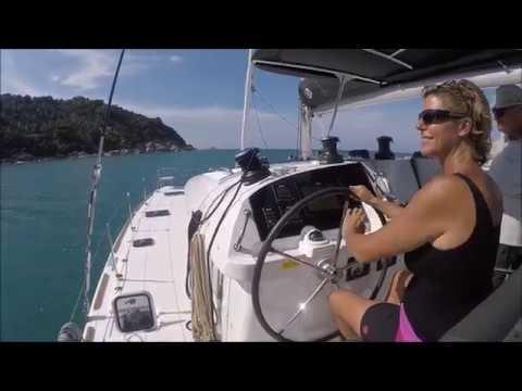 Sailing in Gulf of Thailand : Koh Samui - Phangan - Tao - Chang