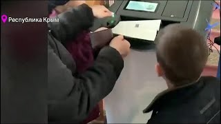 Жители Крыма и Севастополя впервые выбирают президента России