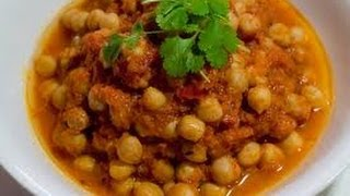 Chana Masala Punjabi Chhole Easy Recipe Chick Pea Curry Indian Style At Home, Diy