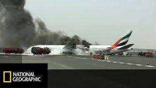 Zamiast się ewakuować ludzie szukali swoich bagaży w płonącym samolocie! [Loty wysokiego ryzyka]