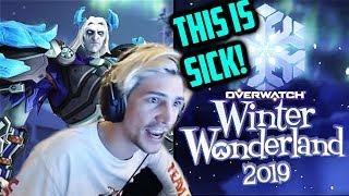 xQc Reviews NEW OVERWATCH WINTER WONDERLAND 2019!