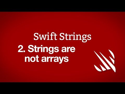 Strings are not arrays – Swift Strings, part 2 thumbnail
