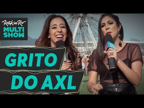 O melhor grito de Axl Rose | Foquinha X Pudim | Rock In Rio 2017