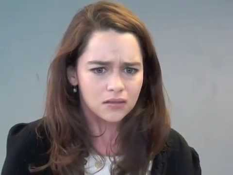 Audition tapes for Belle featuring Sarah Gadon and Emilia Clarke