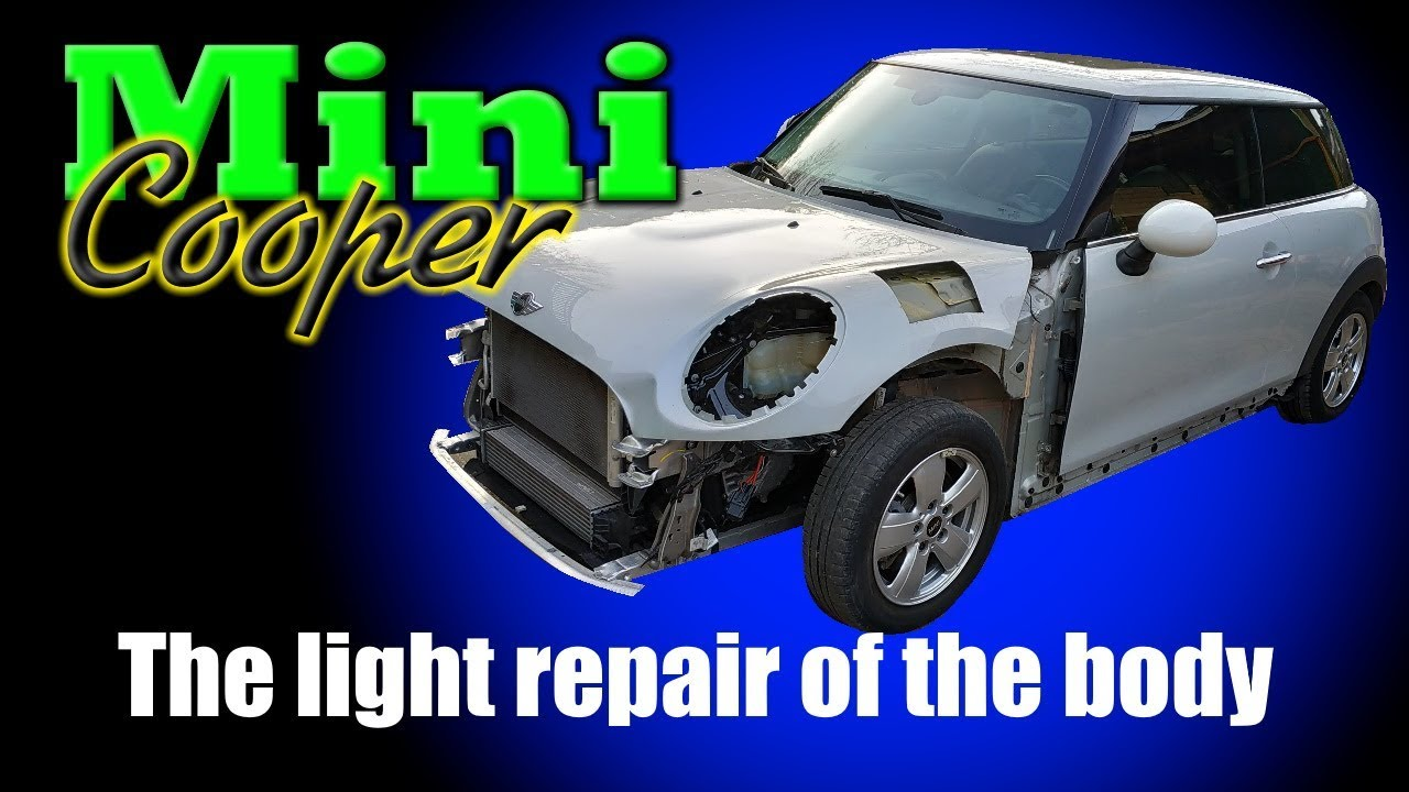 Mini Cooper. The light repair.