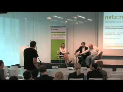 netz:regeln 2011: Open or walled gardens: Soziale Netzwerke demokratisieren?