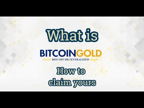 Bitcoin Gold Explained And How To Claim Yours