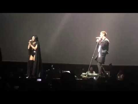 Joe Jonas, Nick Jonas and Demi Lovato- I gotta find you Washington DC July 26th