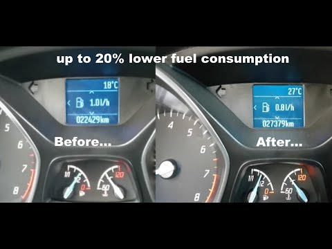How to lower fuel consumption by 20% - proof from 2:08