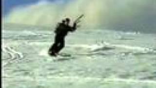 Kite Sking on the main range Kosciuszko NSW 2002